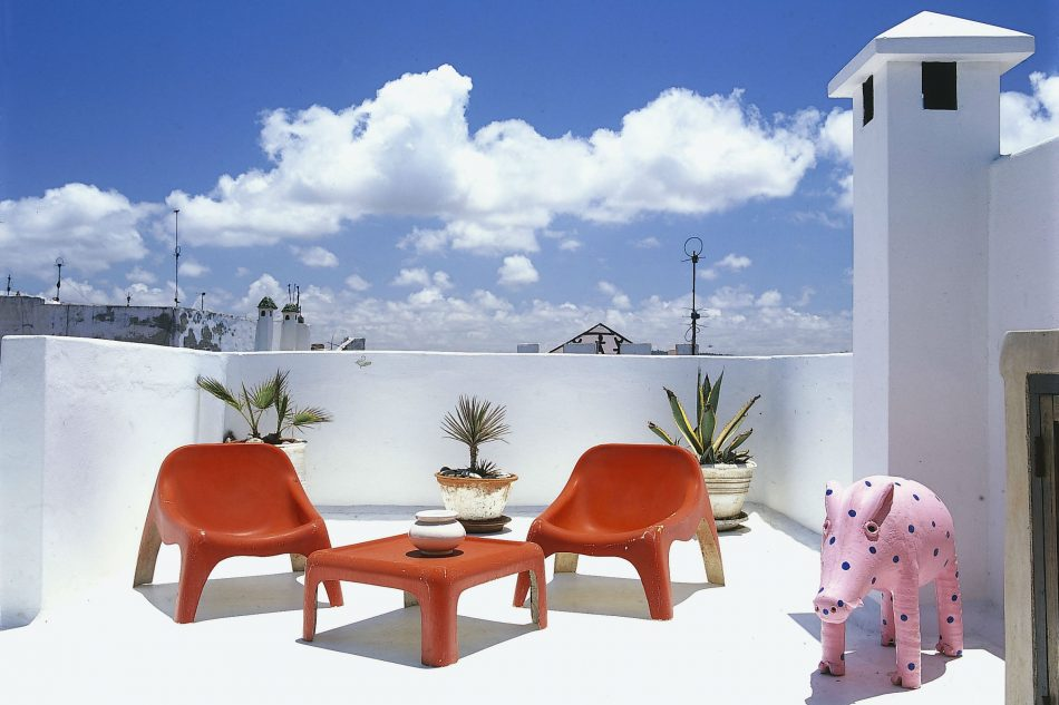 Bab doukkala house essaouira morocco sleeps 8 the for Modern house holiday lets