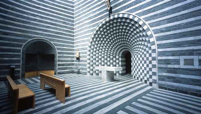 Building Church Of San Giovanni Battista By Mario Botta
