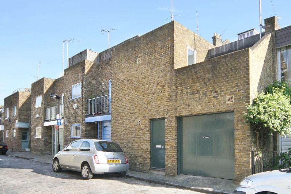 Camden Mews London Nw1 The Modern House