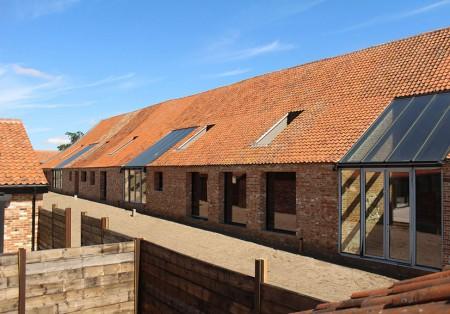 New holiday property: Farm barns, Norfolk