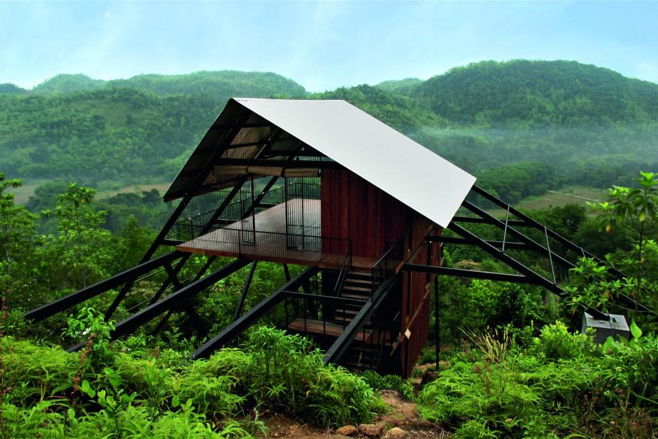 Bamboo Hut Roof