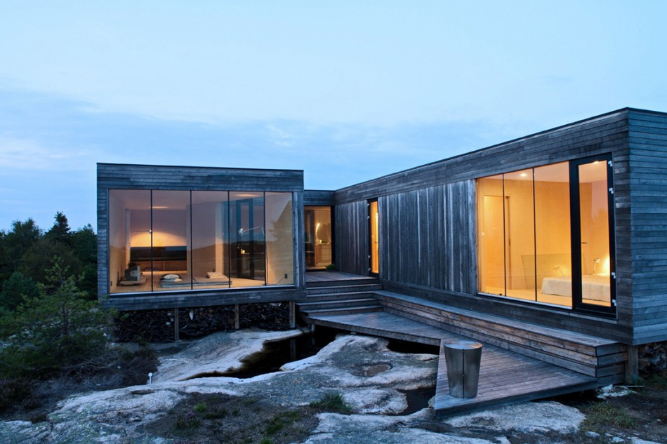 House Of The Day: Summerhouse Inside Out By Reiulf Ramstad Architects    Journal   The Modern House