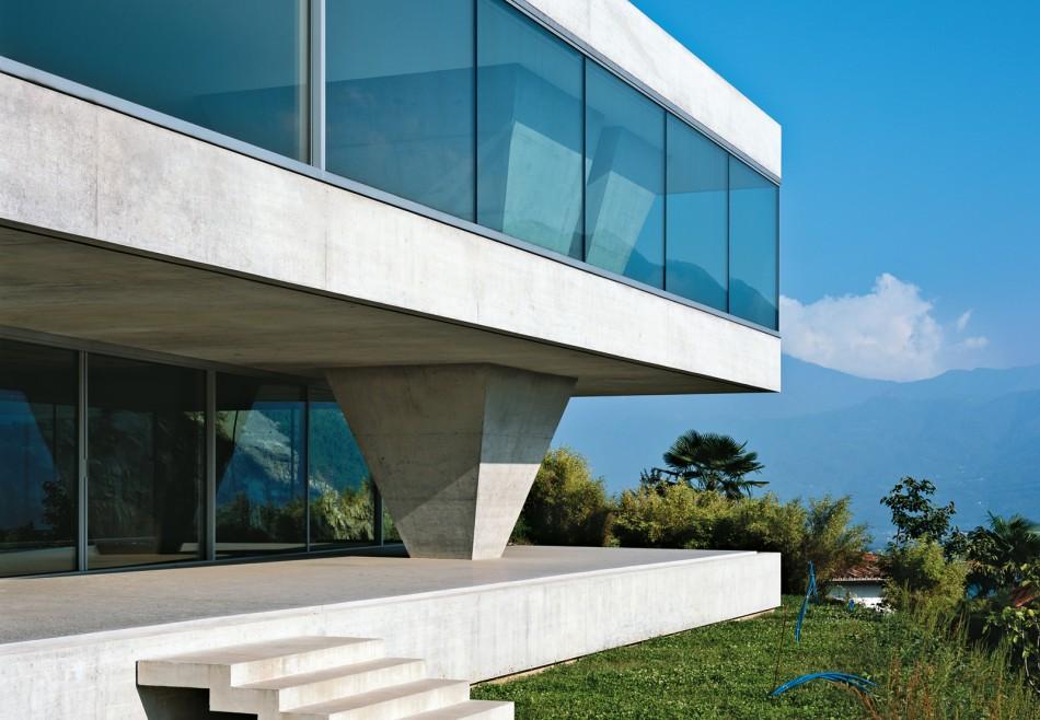 House of the day casa ai pozzi by silvia gm r reto gm r architekten journal the modern house - Gmur architekten ...
