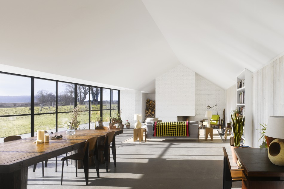 Haveringland, Norfolk. The Modern House