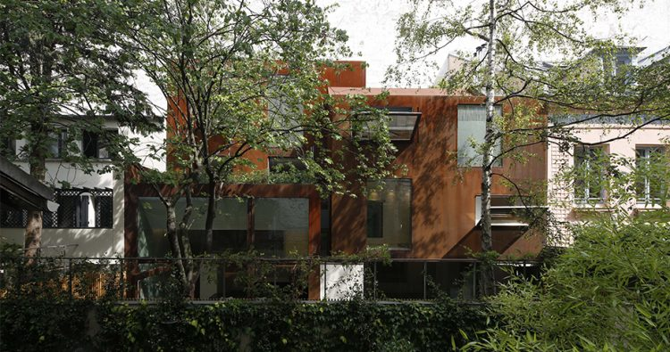 House Cubiste, The Modern House