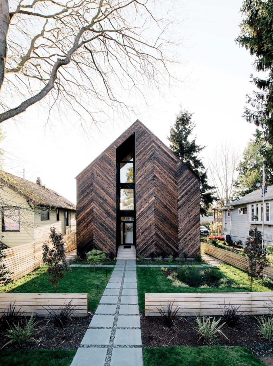 House of the day passive house by malboeuf bowie for Modern house tumblr