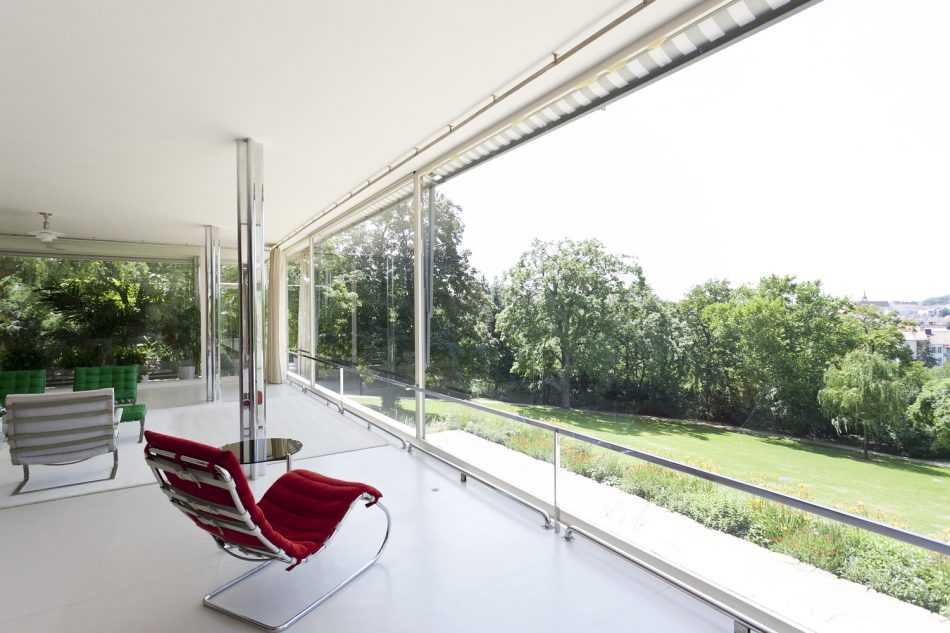 house of the day villa tugendhat by mies van der rohe. Black Bedroom Furniture Sets. Home Design Ideas
