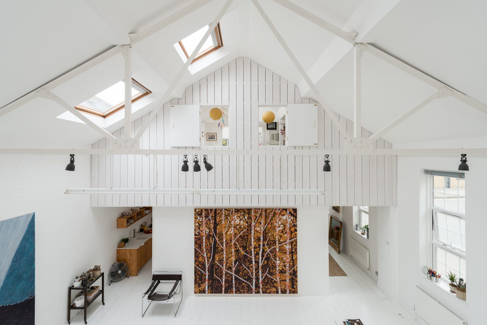 House for a Painter, London, The Modern House