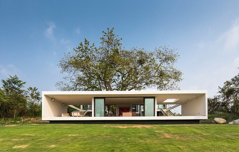 Tropical House The Modern House ... & House of the Day: Tropical House by Alberto Zavala Arquitectos ...