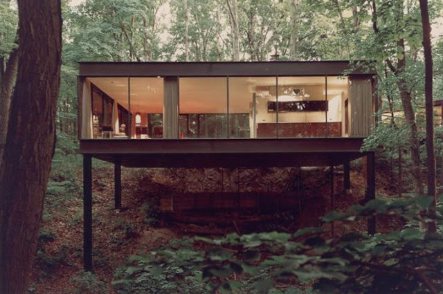 James Speyer, Glass House, The Modern House