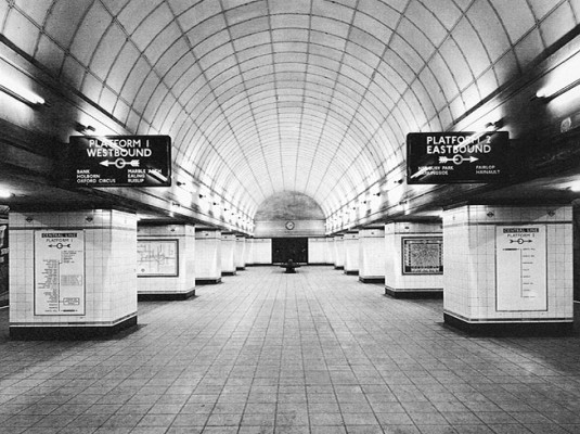 Frank Pick, Charles Holden, London Underground