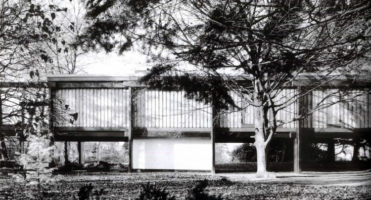 Middleboe House, Jorn Utzon, The Modern House
