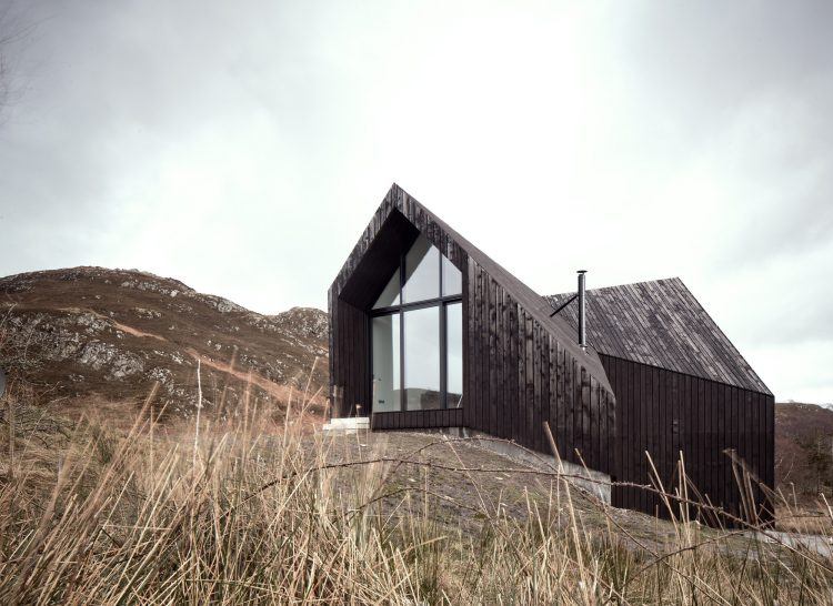 House at Camusdarach Sands, Raw Architecture Workshop, The Modern House