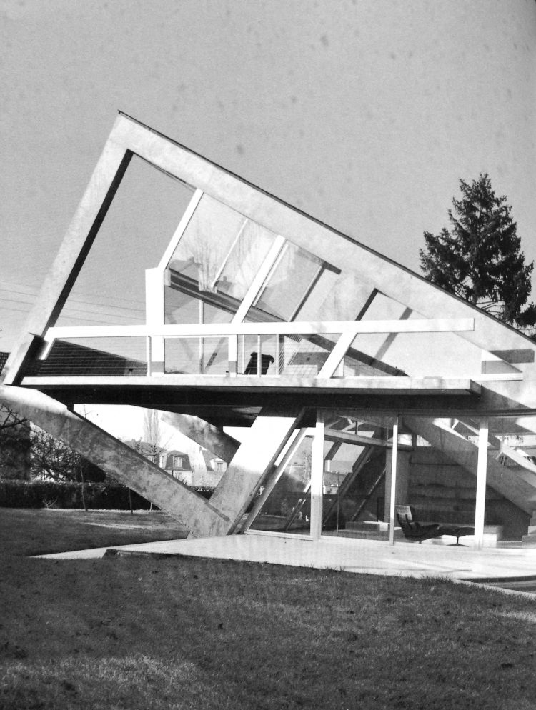 Villa Drusch, Claude Parent, The Modern House