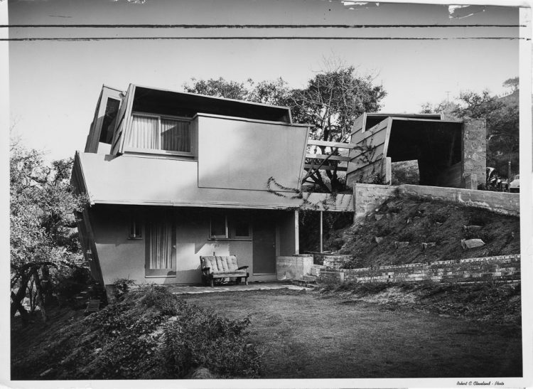 Kallis-Sharlin Residence, Rudolph Schindler, The Modern House
