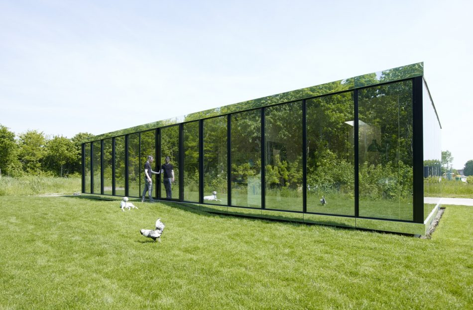 Mirror House, Selbing + Vogel, The Modern House