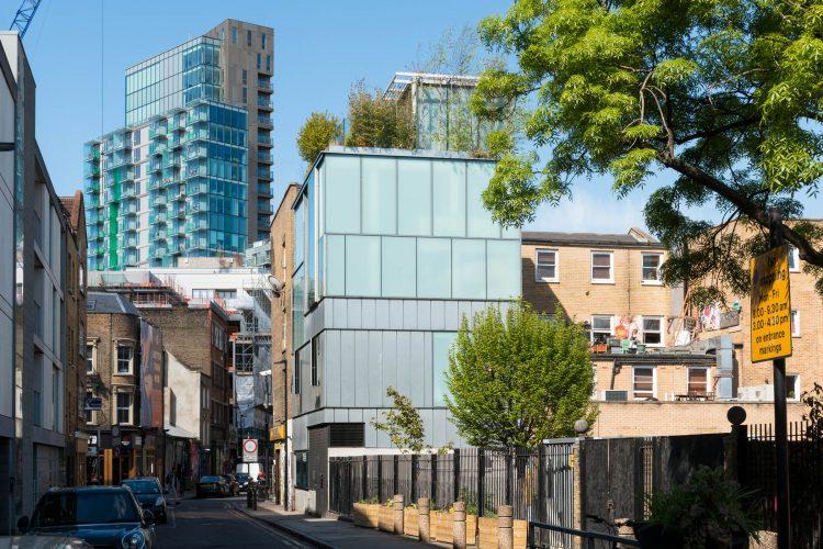 Bacon Street, London E2, The Modern House