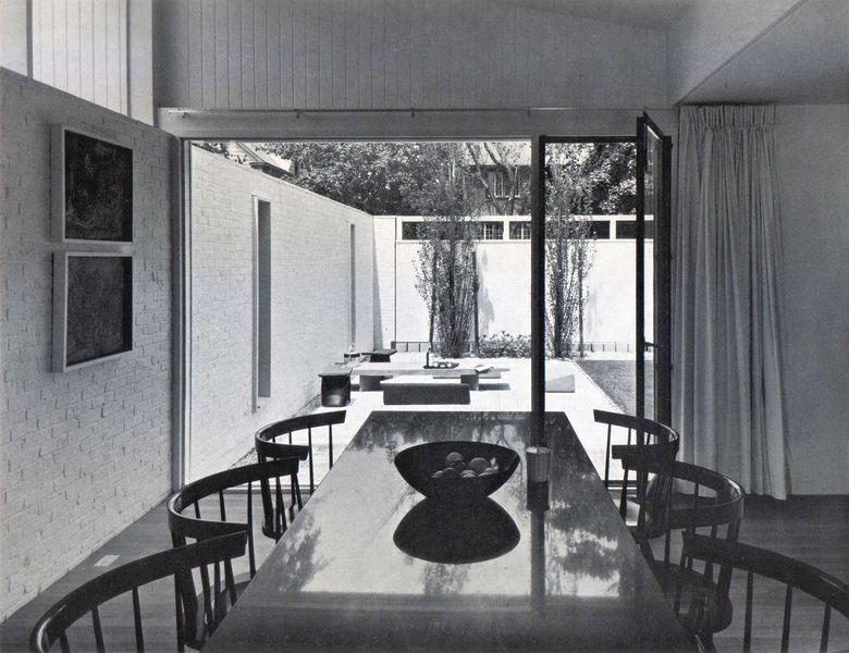 House Of The Day Cambridge House By Josep Lluis Sert