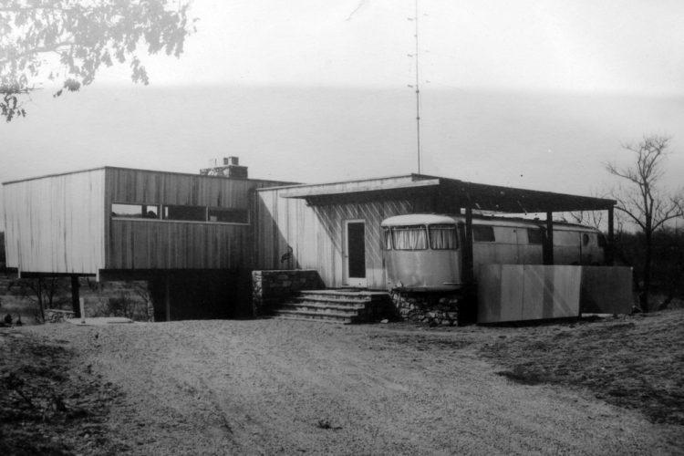 Wolfson Trailer House, Marcel Breuer, The Modern House