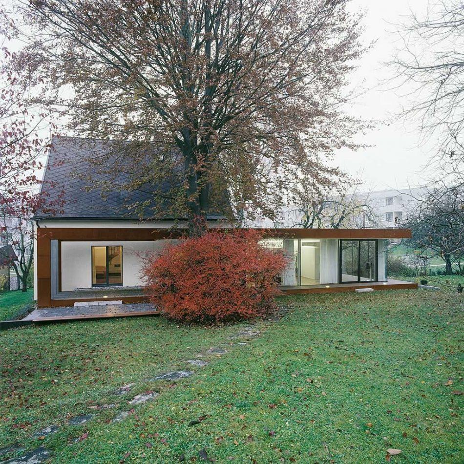 Folded Corten House, The Modern House