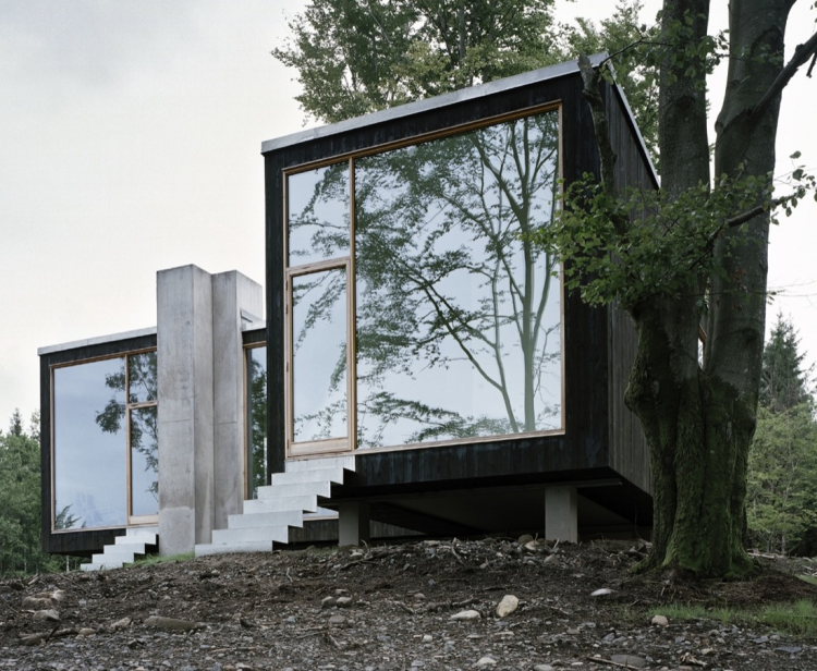Refugium of a Forester, The Modern House