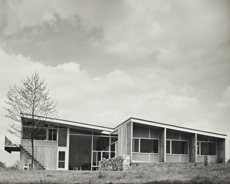 Kniffin House, Marcel Breuer, The Modern House