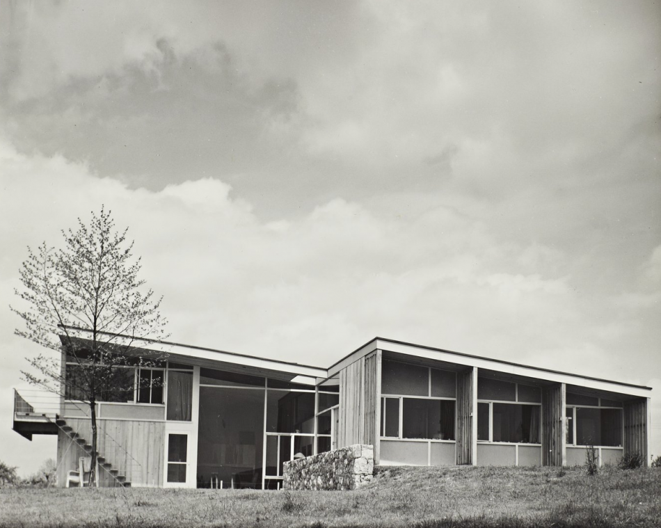House of the day kniffin house by marcel breuer and eliot for Modern house journal