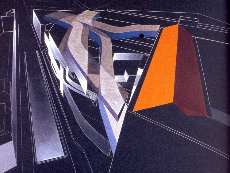 Zaha Hadid, Serpentine Sackler Gallery, The Modern House