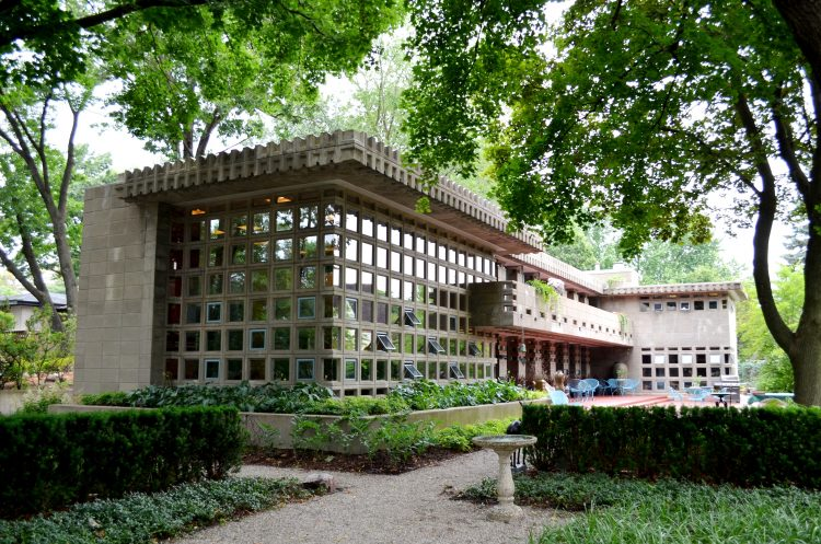 Turkel House, Frank Lloyd Wright, The Modern House