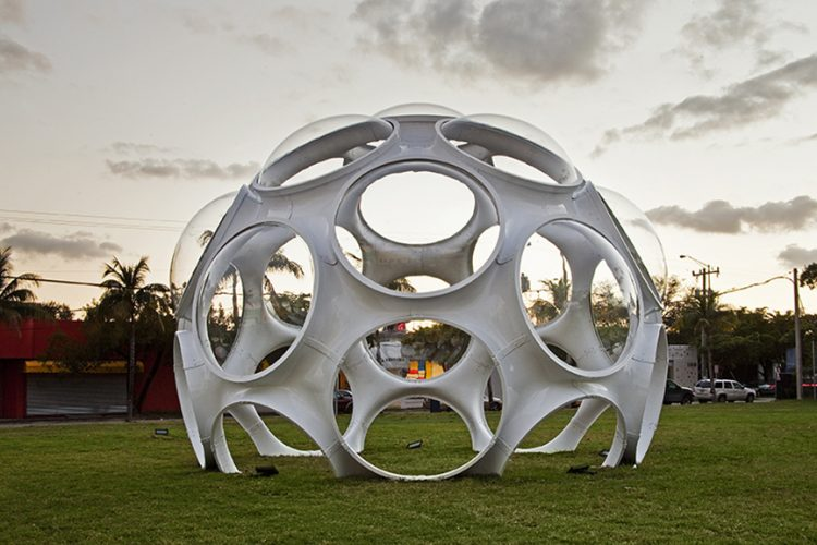 Buckminster Fuller, Fly's Eye Dome, The Modern House