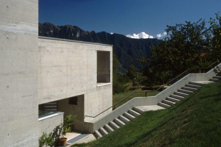 Casa Bernasconi, Luigi Snozzi, The Modern House