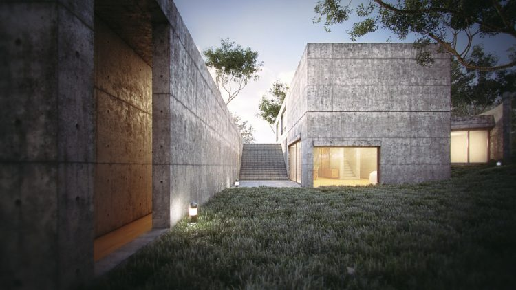 Koshino House, Tadao Ando, The Modern House