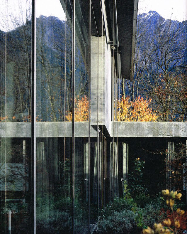 House Of The Day Zumthor House By Peter Zumthor Journal The