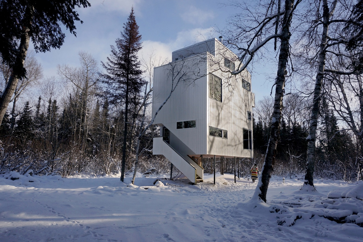 Pole House by DIN Projects, The Modern House