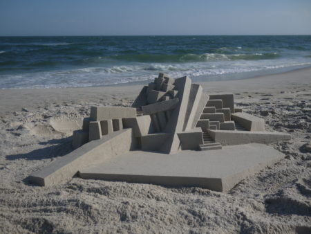 What We're Seeing: Calvin Seibert's Modernist Sandcastles