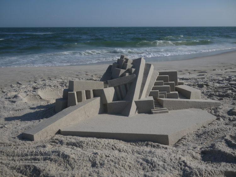 Calvin Seibert's Modernist Sandcastles