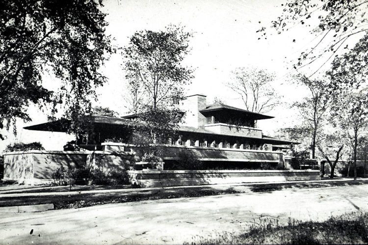 Frederick C. Robie House by Frank Lloyd Wright