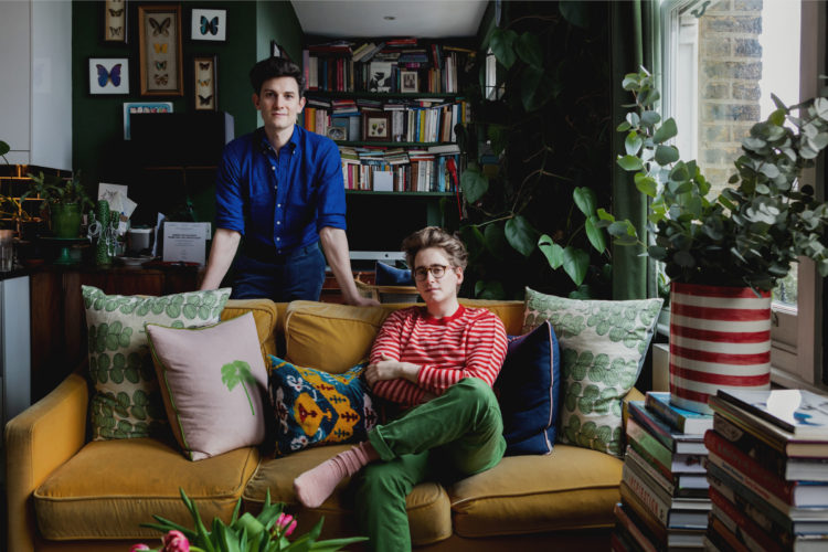 My Modern House: Duncan Campbell and Luke Edward Hall's maximalist Camden flat