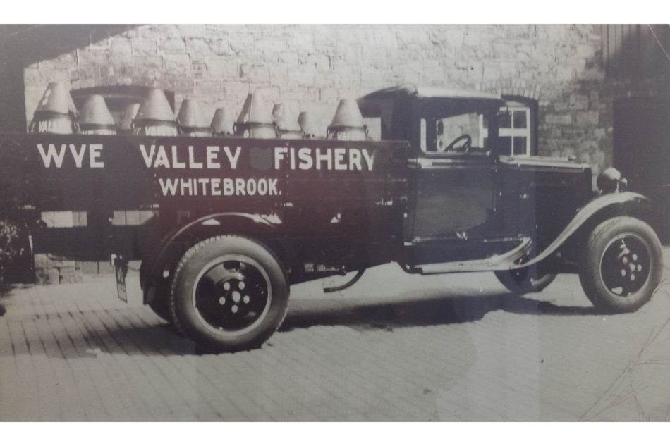 Wye Valley Fishery delivery vehicle