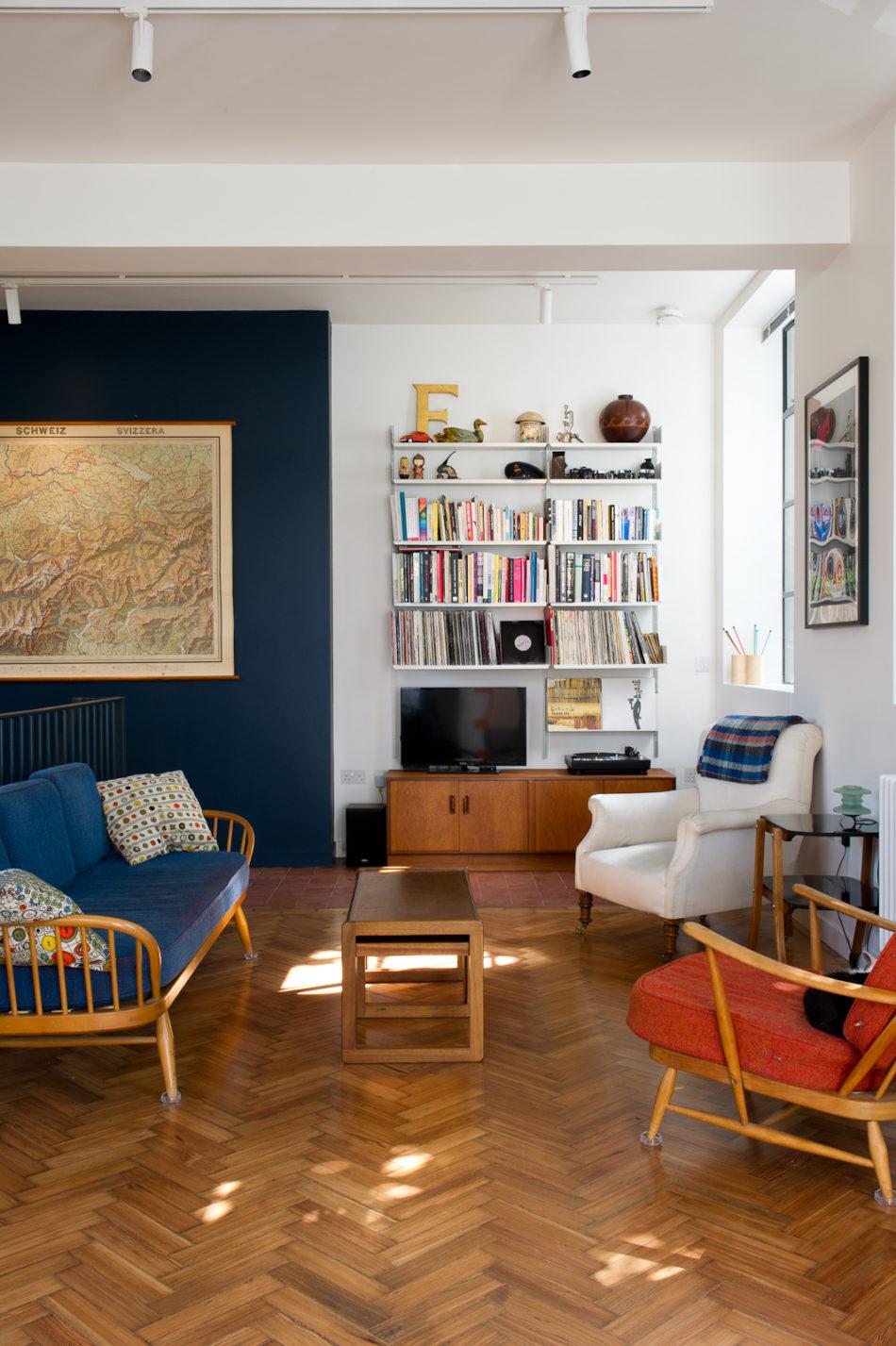 My Modern House: spatial designer Carlo Viscione's converted science block