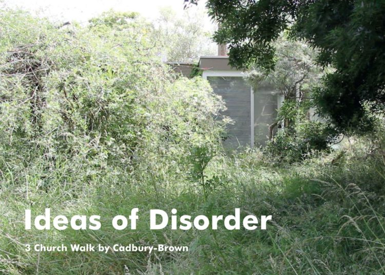A Modern Ruin: Cadbury-Brown and Ideas of Disorder