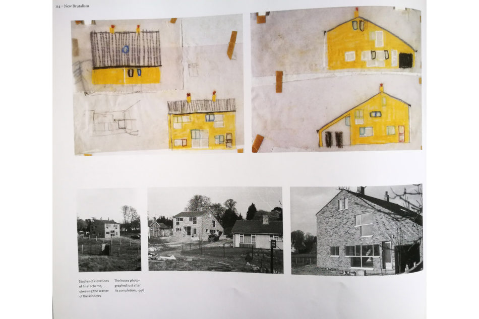 Sketches, as shown in 'Alison and Peter Smithson', Ed. Dirk van den Heuvel and Max Risselada