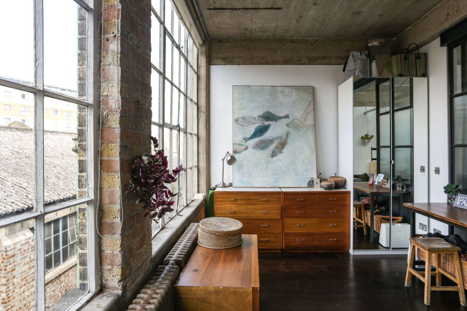 My Modern House: haberdasher rachel Hart opens her renovated 1920s factory apartment in south hackney
