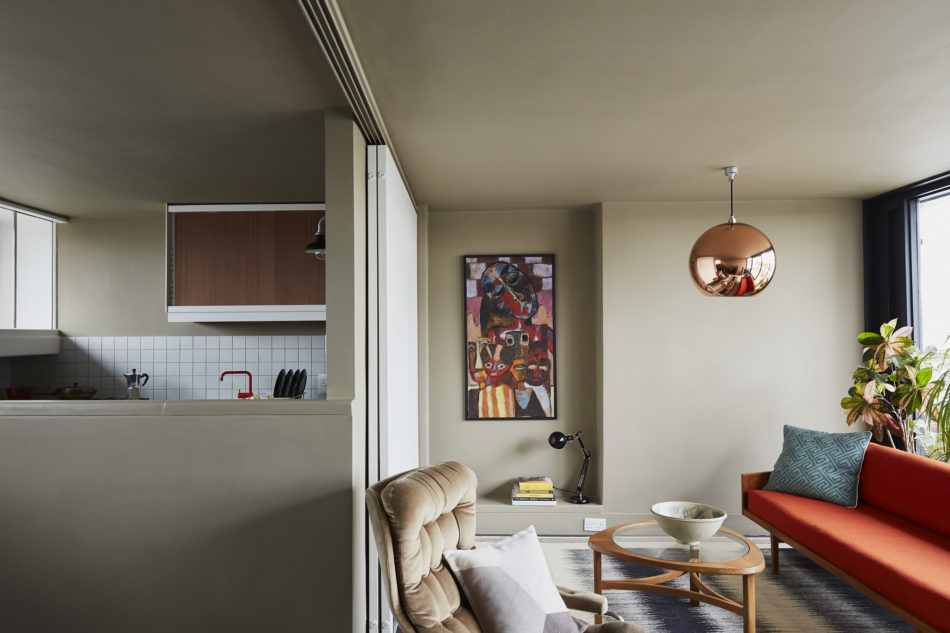 My Modern House: Sam and nellie Turner's renovated apartment on Neave Brown's Rowley Way