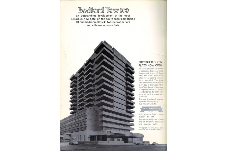 Bedford Towers History #1