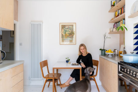 My Modern House: food editor and writer Mina Holland on refurbishing a first home in south London
