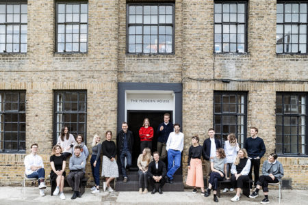 The Modern House moves to a new office occupying a former church hall in Southwark
