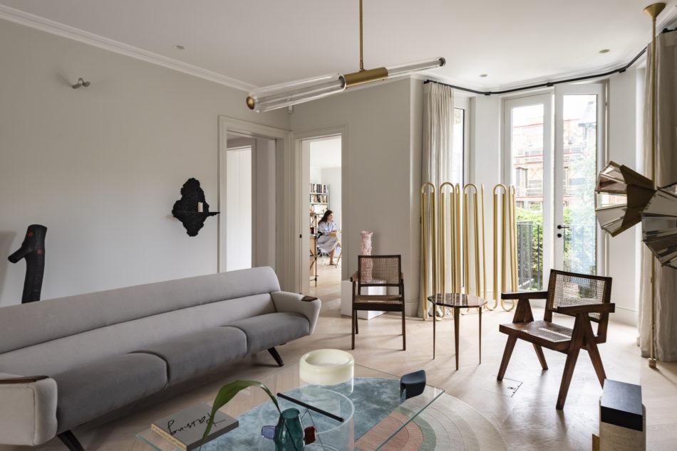 Nathalie Assi seeds gallery design