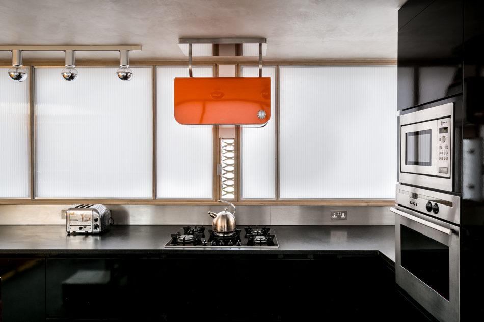 Photographer Jonathan Root's modern kitchen