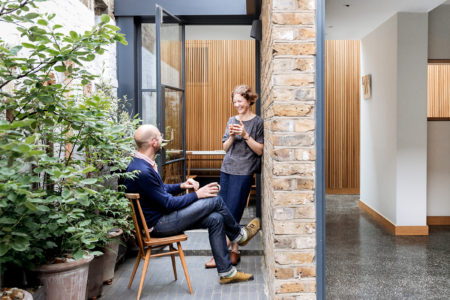 Open House: designers Eleanor and Peter Pritchard on moving to east London and converting a former Victorian flour store